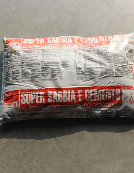MASSETTO SUPERSABBIA E CEMENTO 25 kg