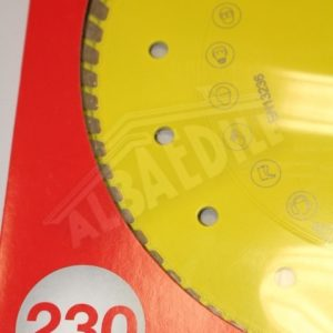 DISCO DIAMANTATO TURBO GIALLO D230