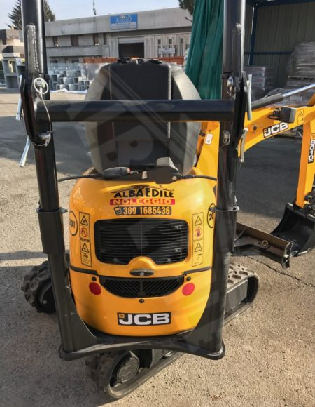 MINI ESCAVATORE JCB 10 q